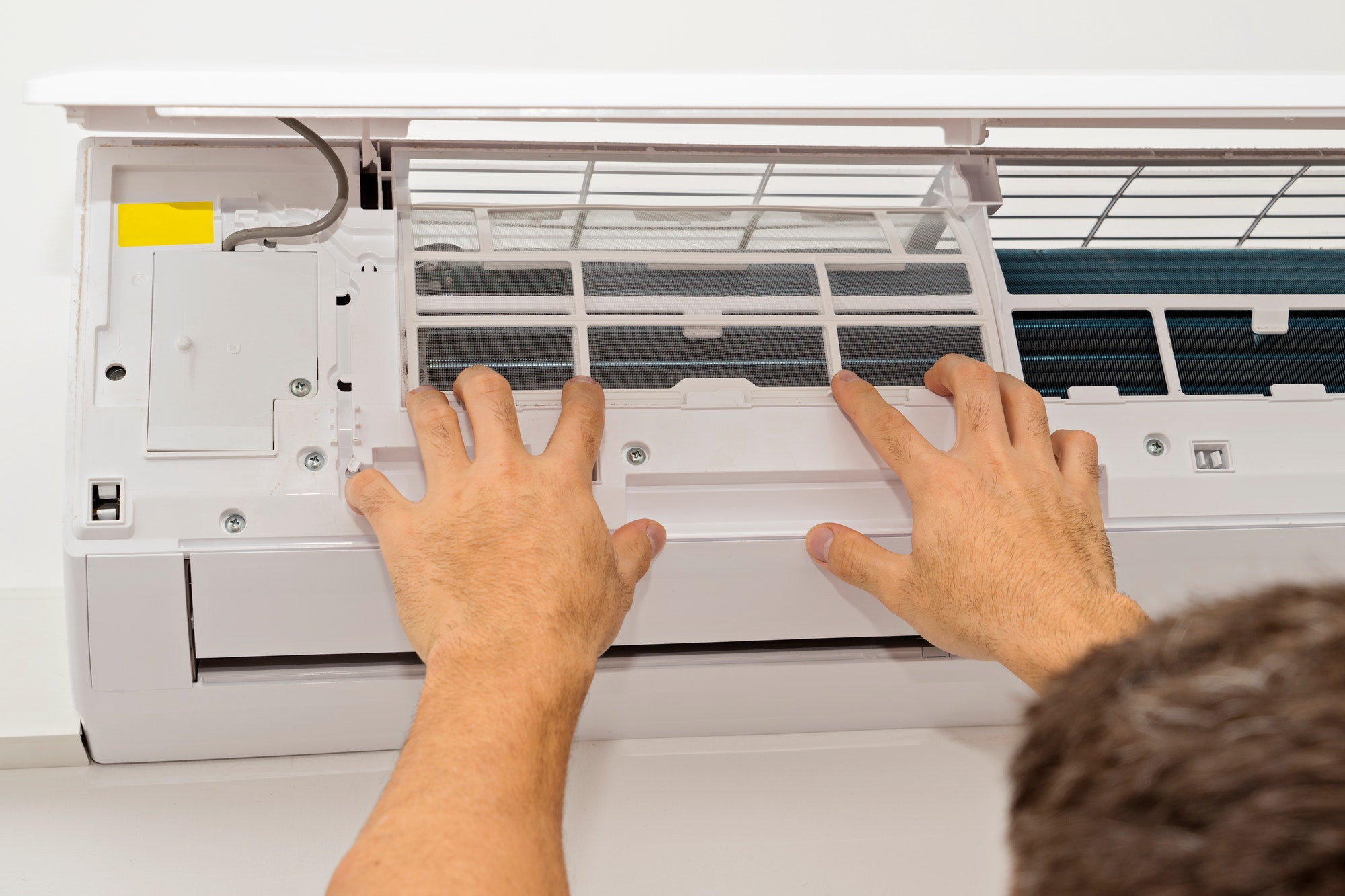 !! NOMINATED!! Changing the filter of the air conditioner